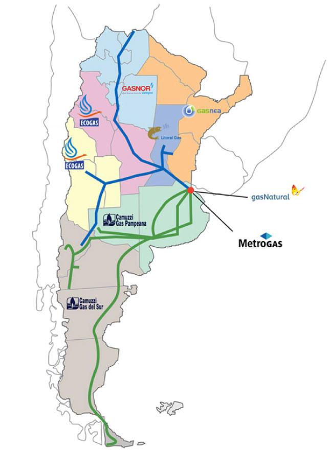Mapa Degas Ar